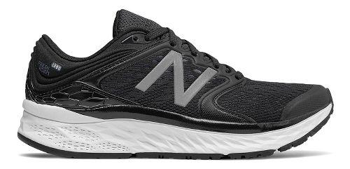 Womens New Balance Fresh Foam 1080v8 Running Shoe - Black/White 7.5