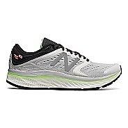 Womens New Balance Fresh Foam 1080v8 Running Shoe - White/Green 12