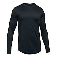 Mens Under Armour Sportstyle Graphic Tee Long Sleeve Technical Tops - Black M