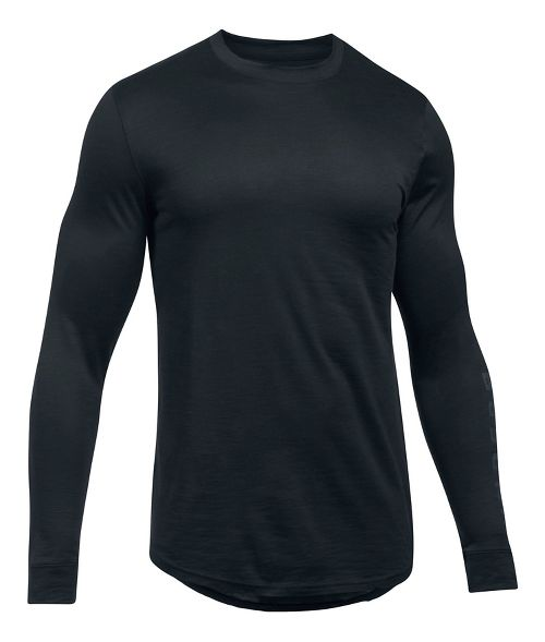 Mens Under Armour Sportstyle Graphic Tee Long Sleeve Technical Tops - Black L
