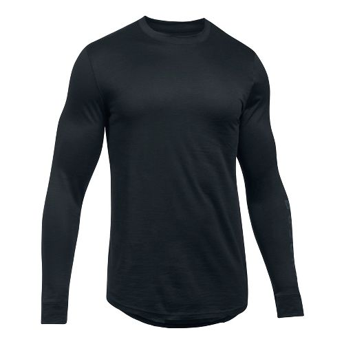 Mens Under Armour Sportstyle Graphic Tee Long Sleeve Technical Tops - Black XL