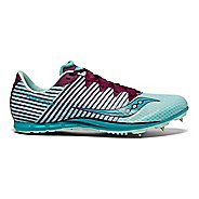Womens Saucony Vendetta 2 Track and Field Shoe - Blue/Purple 5.5