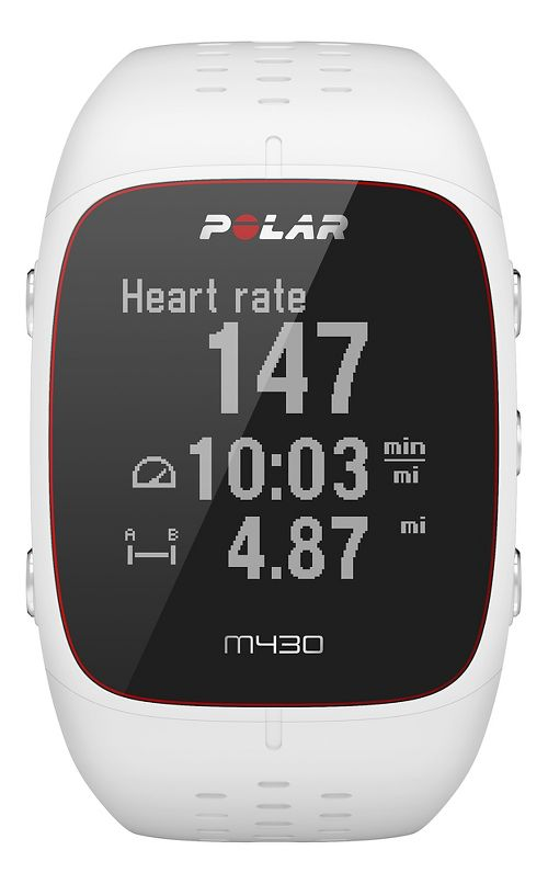 Polar M430 Monitors - White M/L