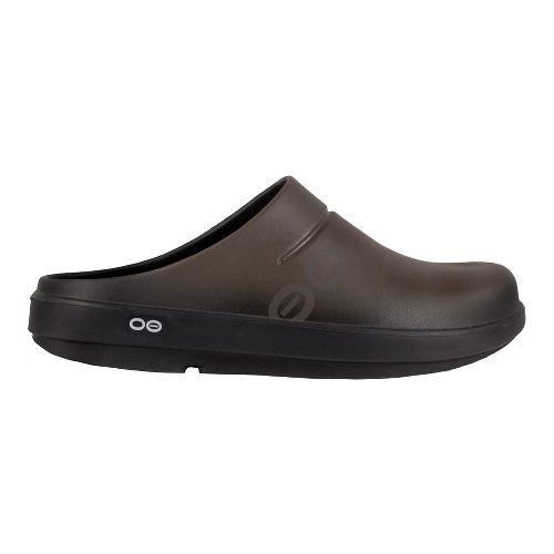 Mens OOFOS Oocloog Sport Casual Shoe - Brown 4