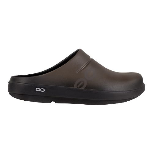 Mens OOFOS Oocloog Sport Casual Shoe - Brown 8