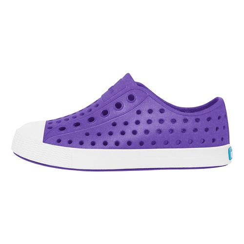 Kids Native Jefferson Iridescent Casual Shoe - Purple/White 12C