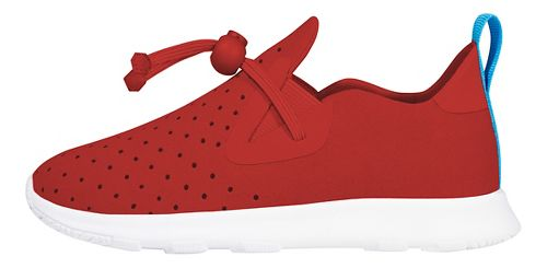 Kids Native Apollo Moc Casual Shoe - Red/White 8C
