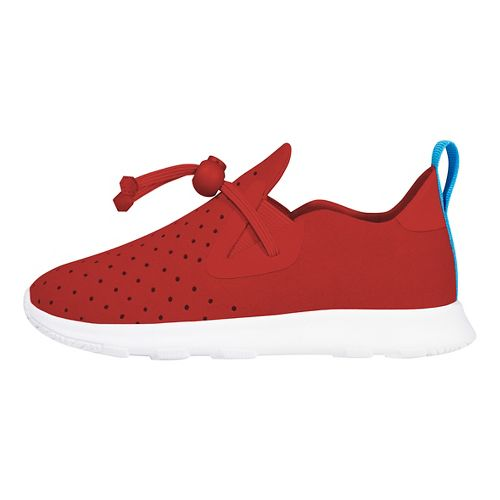 Kids Native Apollo Moc Casual Shoe - Red/White 6C