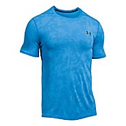 Mens Under Armour Threadborne Elite Fitted Short Sleeve Technical Tops