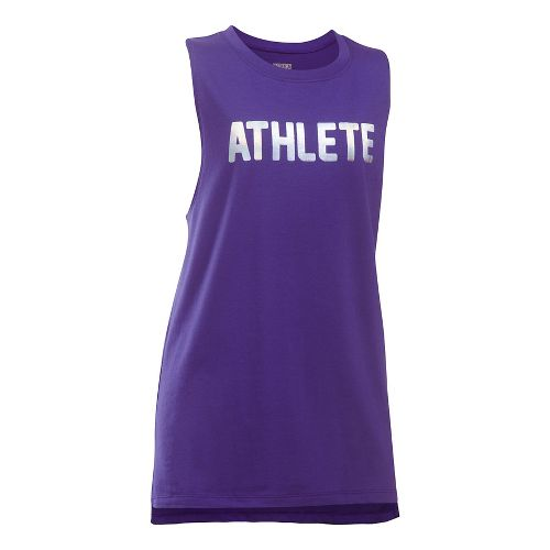 Under Armour Athlete Sleeveless & Tank Tops Technical Tops - Pluto/Blue YL