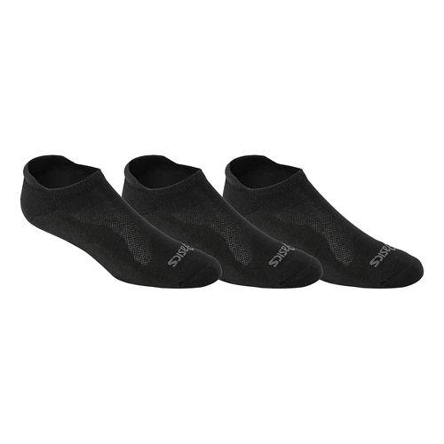 ASICS Cushion Low Cut 9 Pack Socks - Black M
