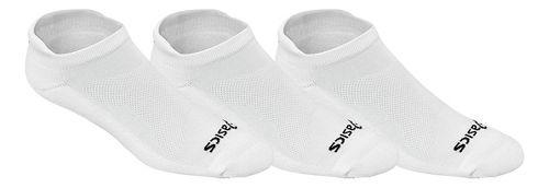 ASICS Cushion Low Cut 9 Pack Socks - White M