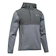 Mens Under Armour Swacket Henley Half-Zips & Hoodies Technical Tops