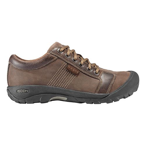 Mens Keen Austin Casual Shoe - Chocolate Brown 10