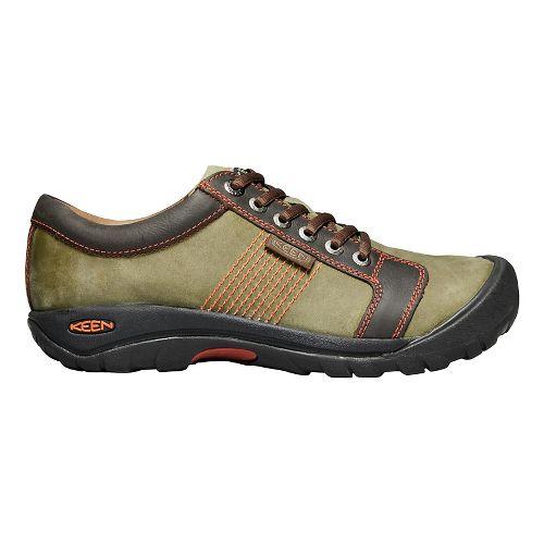 Mens Keen Austin Casual Shoe - Army/Earth 14
