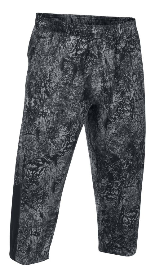 Mens Under Armour Storm 3/4 Tapered Pants - Black L