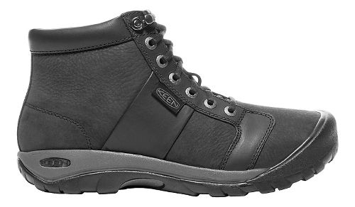 Mens Keen Austin Mid WP Casual Shoe - Black 11.5