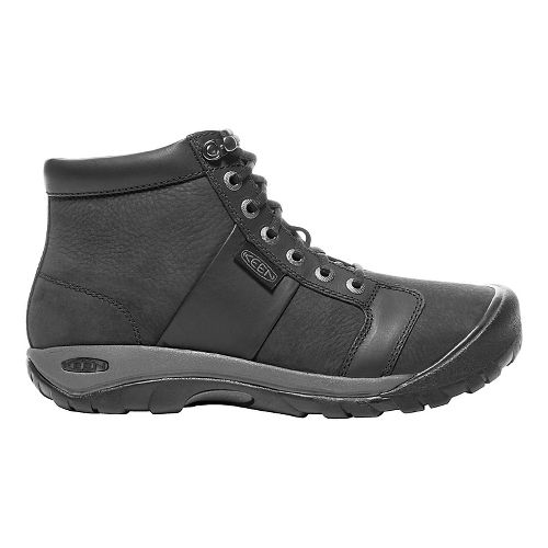 Mens Keen Austin Mid WP Casual Shoe - Black 10