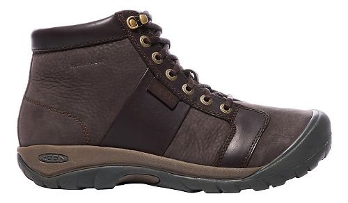 Mens Keen Austin Mid WP Casual Shoe - Brown 9