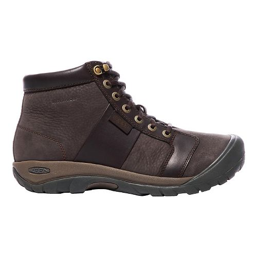 Mens Keen Austin Mid WP Casual Shoe - Brown 8.5