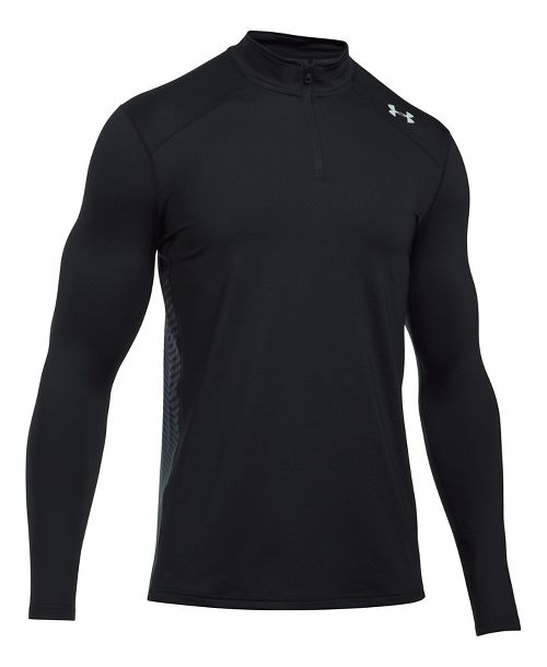 Mens Under Armour ColdGear Reactor Fitted 1/4 Zip Half-Zips & Hoodies Technical Tops - ...
