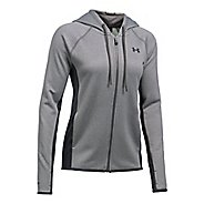 Womens Under Armour Fleece Full Zip-Solid Running Jackets