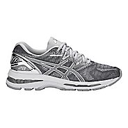 Womens ASICS GEL-Nimbus 20 Platinum Running Shoe - Carbon/Silver 9