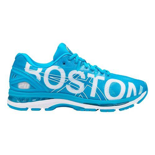 Mens ASICS GEL-Nimbus 20 Boston Running Shoe - Boston Blue 10.5