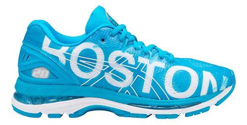 Womens ASICS GEL-Nimbus 20 Boston Running Shoe - Boston Blue 12