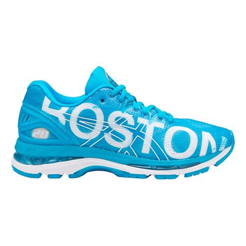 Womens ASICS GEL-Nimbus 20 Boston Running Shoe - Boston Blue 12