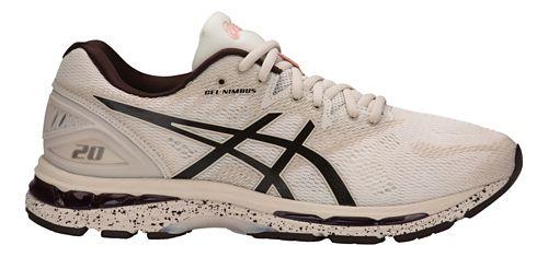 Mens ASICS GEL-Nimbus 20 SP Running Shoe - Birch/Blossom 12.5