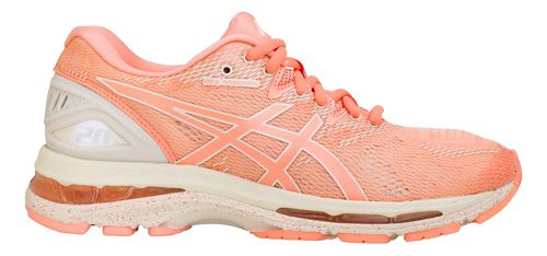Womens ASICS GEL-Nimbus 20 SP Running Shoe - Cherry/Blossom 10.5