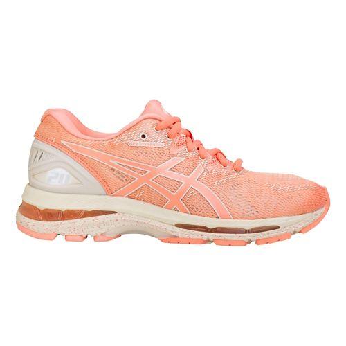 Womens ASICS GEL-Nimbus 20 SP Running Shoe - Cherry/Blossom 7.5