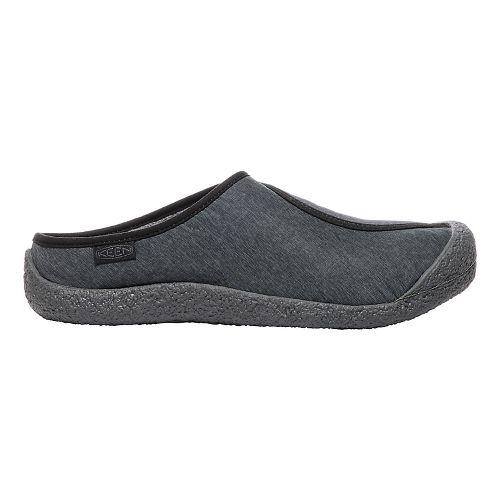 Mens Keen Howser Down Slide Casual Shoe - Black/Magnet 14