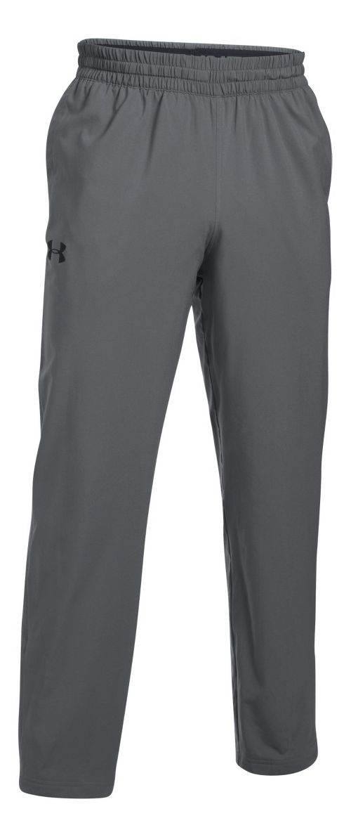 Mens Under Armour Tricot Lined Warm-Up Pants - Graphite 3XL-T