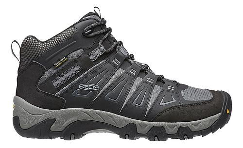Mens Keen Oakridge Mid WP Hiking Shoe - Magnet/Gargoyle 16