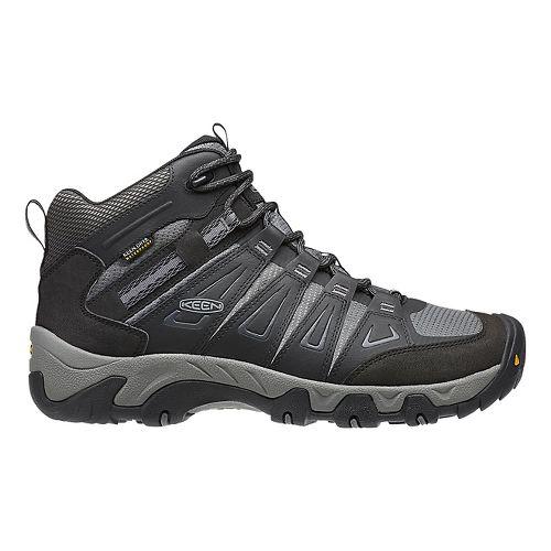 Mens Keen Oakridge Mid WP Hiking Shoe - Magnet/Gargoyle 16