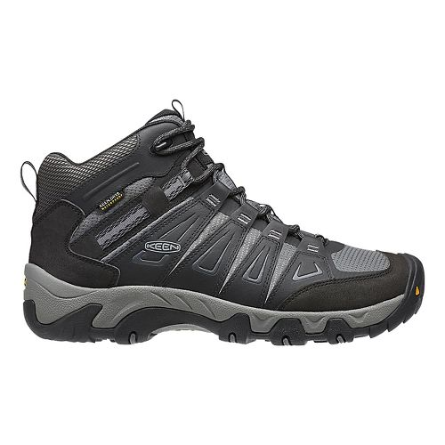 Mens Keen Oakridge Mid WP Hiking Shoe - Magnet/Gargoyle 8