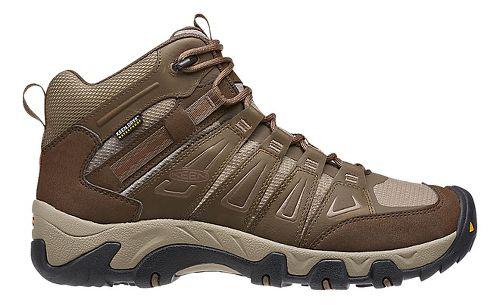 Mens Keen Oakridge Mid WP Hiking Shoe - Cascade/Brindle 12
