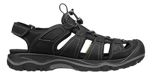 Mens Keen Rialto Sandals Shoe - Bison/Black 10