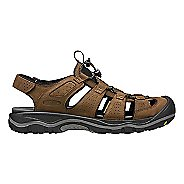 Mens Keen Rialto Sandals Shoe - Black/Gargoyle 7