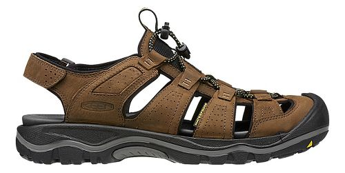 Mens Keen Rialto Sandals Shoe - Black/Gargoyle 7.5