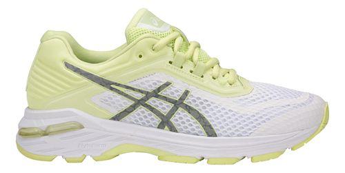Womens ASICS GT-2000 6 Lite-Show Running Shoe - White/Yellow 8