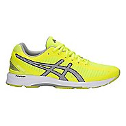 Mens ASICS GEL-DS Trainer 23 Running Shoe - Yellow/Grey 10.5