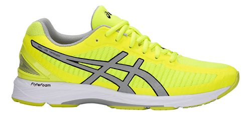 Mens ASICS GEL-DS Trainer 23 Running Shoe - Yellow/Grey 12.5