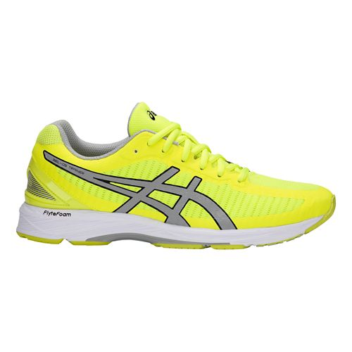 Mens ASICS GEL-DS Trainer 23 Running Shoe - Yellow/Grey 9.5