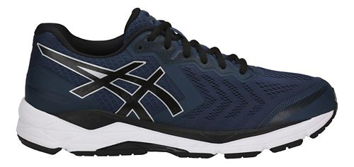 Mens ASICS GEL-Foundation 13 Running Shoe - Dark Blue/Black 11.5