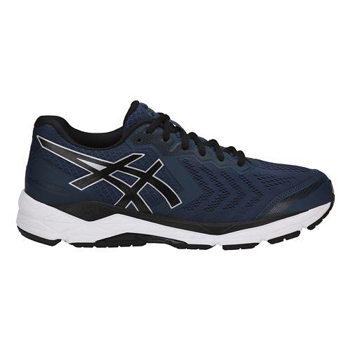 Mens ASICS GEL-Foundation 13 Running Shoe - Dark Blue/Black 8.5