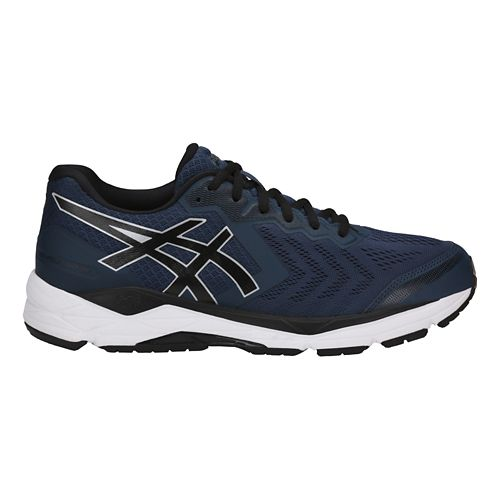 Mens ASICS GEL-Foundation 13 Running Shoe - Dark Blue/Black 9