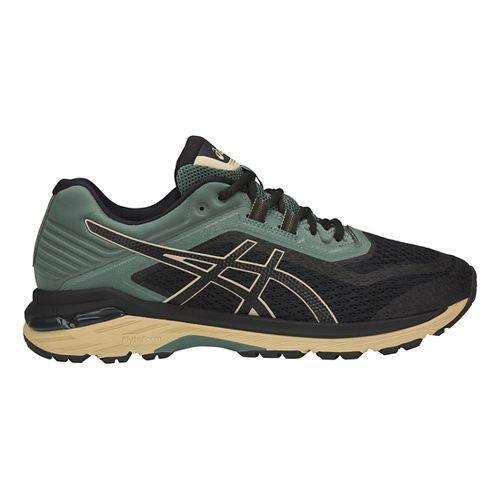 Mens ASICS GT-2000 6 Trail Running Shoe - Black/Forest 10